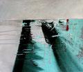 80 x 70 cm, Acryl/Pigmente auf Leinwand