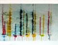 115 x 95 cm, Acryl/Tusche auf Leinwand