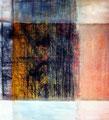100 x 100 cm, Acryl/Pigmente auf Leinwand