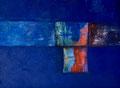 120 x 100 cm, Öl auf Leinwand