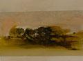 40 x 30 cmm Acryl, Tusche auf Leinwand