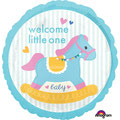 "Welcome Little One Rocking Horse 18"" - € 5,90"