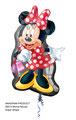 "Folienballon ""Minnie Supershape"" -  70cm  € 10,90"