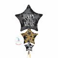 "Folienballon ""Stars Supershape"" - 90cm  € 12,90"