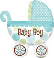 "Folienballon ""Buggy - boy""  - 70cm  € 12,90"