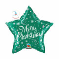 "Folienballon ""Merry Christmas Star - green"" - 35cm  € 6,90"