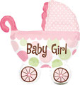 "Folienballon ""Buggy - girl""  - 70cm  € 12,90"