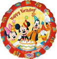 "Folienballon ""HB Mickey & Friends"" -  35cm  € 5,90"
