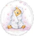 "Folienballon ""Winnie Pooh - girl"" -  35cm  € 5,90"