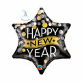 "Folienballon ""Stern - Happy New Year"" - 55cm  € 7,90"