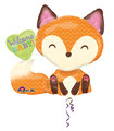 "Folienballon ""Welcome Baby - fox""  -  70cm  € 9,90"