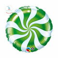 "Folienballon ""Candy Swirl - green"" - 35cm  € 5,90"