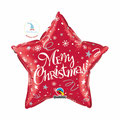 "Folienballon ""Merry Christmas Star - red"" - 35cm  € 6,90"