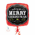 "Folienballon ""Merry Christmas Chalkboard"" - 35cm  € 5,90"
