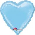 "Folienballon ""Herz hellblau"" 18""  € 5,90"