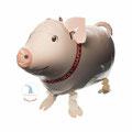 """Folienballon """"Airwalker Glücksschweinchen""""  -  € 12,90"""