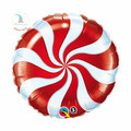 "Folienballon ""Candy Swirl - red"" - 35cm  € 5,90"