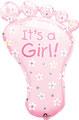 "Folienballon ""Foot - girl""  - 80cm  € 12,90"