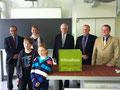 Überreichung der Klimakiste an das Lessing-Gymnasium in Mannheim