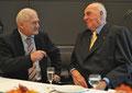 Egon Jüttner im Gespräch mit Altbundeskanzler Dr. Helmut Kohl