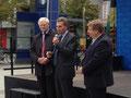 Egon Jüttner, Günther Oettinger und Claudius Kranz