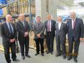 Egon Jüttner gemeinsam mit den Stadträten Bernd Kupfer und Konrad Schlichter zu Gast bei der Phoenix Pharmahandel GmbH
