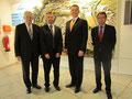Egon Jüttner mit Botschafter Australiens, S.E. Peter Tesch, bei FRIATEC in Mannheim