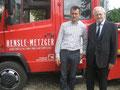 Frank Hensle-Metzger und Egon Jüttner
