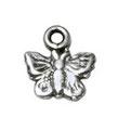 Sommervogel Silber 7x7mm
