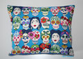 Kissenbezug Gesichter, Totenköpfe, CMS Nähguru