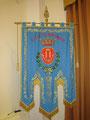 Gonfalone del Comune di Brindisi con la Croce di guerra