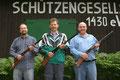 1. Platz Mannschaft Bezirksmeisterschaft Unterhebel C