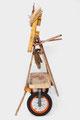 Sint Franciscus van Assisi (ene zijkant) 140x70x70cm  650,-
