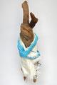 Slapende haas 65x20x20cm 250,- Zie ook filmpje van deze sculptuur op deze website bij video