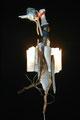 Gestrande vogel (wand object) 70x28x28cm