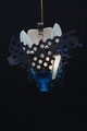 Vlinder (Blauwtje) 60x70x23cm