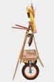Sint Franciscus van Assisi (andere zijkant) 140x70x70cm.  650,- Meer foto's op www.zeedistelblogspot.com