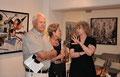Patricia Mendjisky, Mendjisky-vernissage galerie Gabel, art contemporain côte d'azur, Biot-Sophia-Antipolis