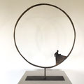 World Art Dubaï- French Gallery-bronze circle- Sophie Hustin- BIOT-FRANCE