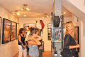 Vernissage Serge Mendjisky, Mendjisky-vernissage galerie Gabel, art contemporain côte d'azur, Biot-Sophia-Antipolis