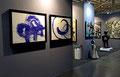 Stand Art Up-Lille 2015-Lasserre-Miotte-Berry-Carbajal-Coville-Jieun Park-Galerie GABEL-