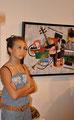 Concert sur la ville, Mendjisky-vernissage galerie Gabel, art contemporain côte d'azur, Biot-Sophia-Antipolis