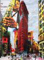 FLORENT TOUCHOT- Technique mixte sur toile, et impression sur plexiglas-pièce unique -Galerie Gabel ART UP 2016