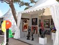 Philippe Berry, Lyle Carbajal, Miotte exposés par la galerie Gabel à Antibes art fair 2014