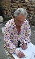Serge Mendjisky-vernissage galerie Gabel, art contemporain côte d'azur, Biot-Sophia-Antipolis