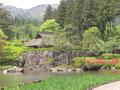 広大な庭園、古峯園(こほうえん)