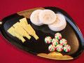 干菓子はどれも絶品!味噌餡は大好きです