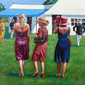 Here Come The Girls!  Sold at AFAS exhibition, Mall Galleries, London