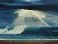 vague           huile sur toile 65*50   2012