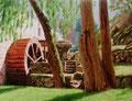 Moulin de Saillant (Creuse)          huile sur toile   65*50    2011